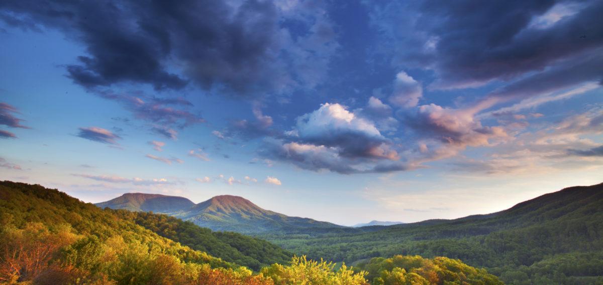 House Mountain Fall Vista Brent McGuirt