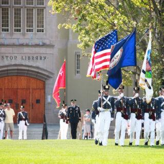 Lexington VA VMI Cadet Parade