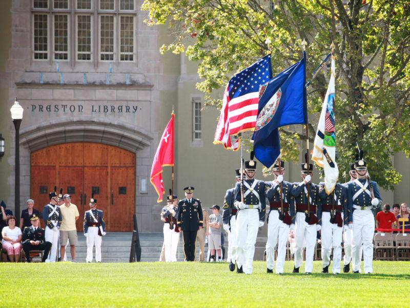 VMI Cadet Parade