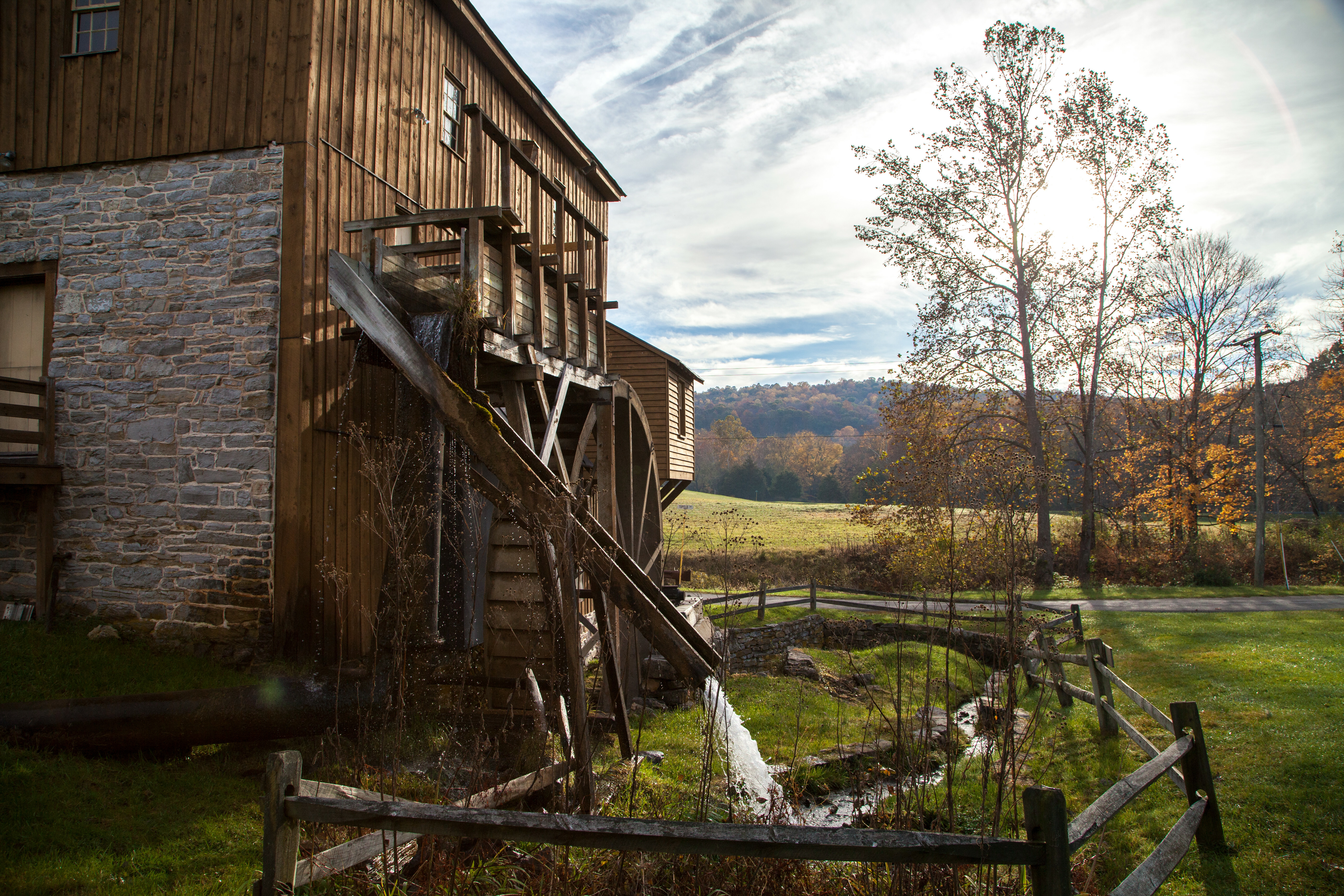 Wade's Mill. Photo by Sarah Hauser, Virginia Tourism Corporation