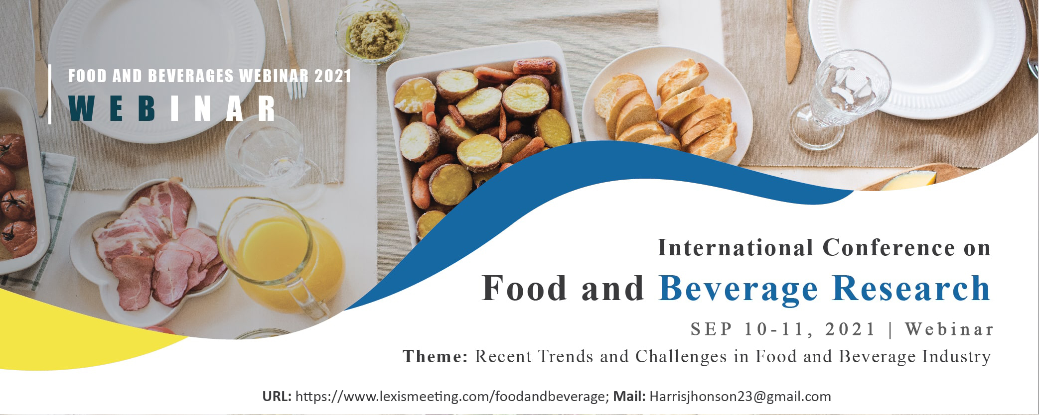 International Conference on Food and Beverage Research