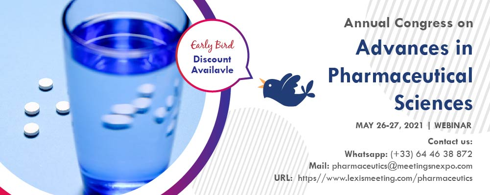 Annual Congress on Advances in Pharmaceutical Sciences