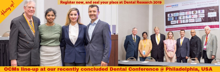 International Conference on Dental Research and Dental Treatments
