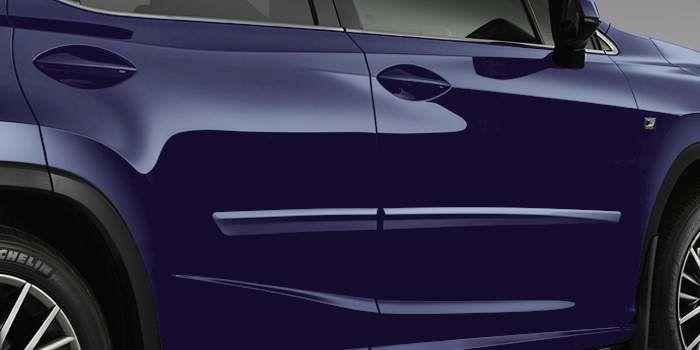 Lexus RX 2017 Moulures protectrices latérales