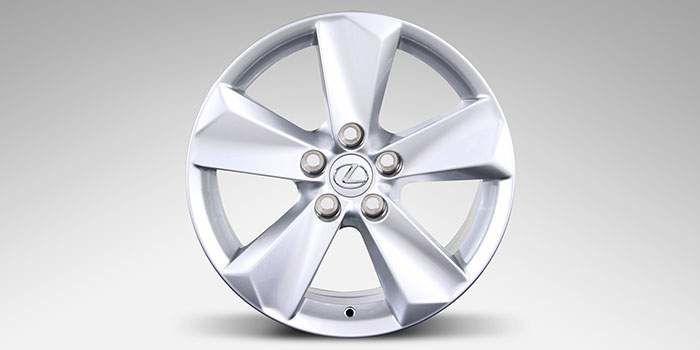 """2018 Lexus NX 17"""" Winter Alloy Wheels (5 Spoke)"""