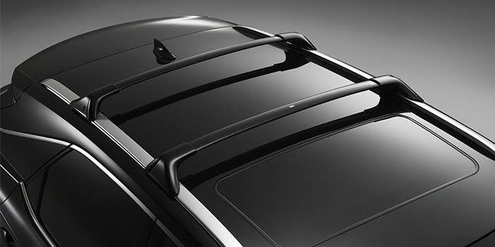 Lexus RX 2017 Barres transversales de porte-bagages de toit