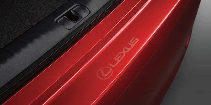 2018 Lexus RC Rear Bumper Appliqué