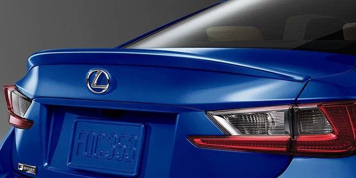 2018 Lexus RC Rear Spoiler