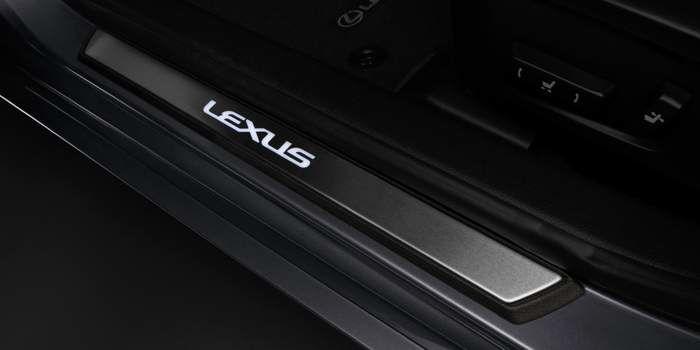 2018 Lexus RCF Front Illuminated Door Sill Protectors