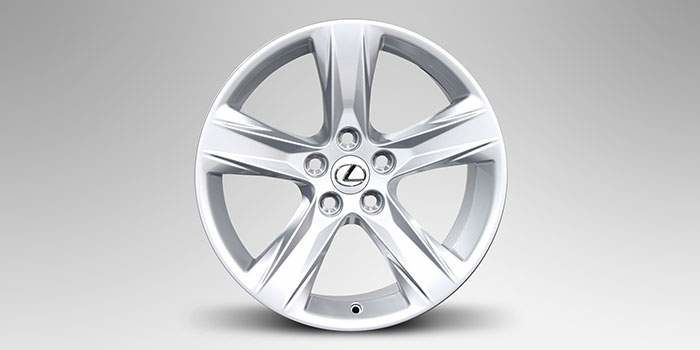 """2018 Lexus RX L 18"""" Winter Alloy Wheels (5 Spoke)"""