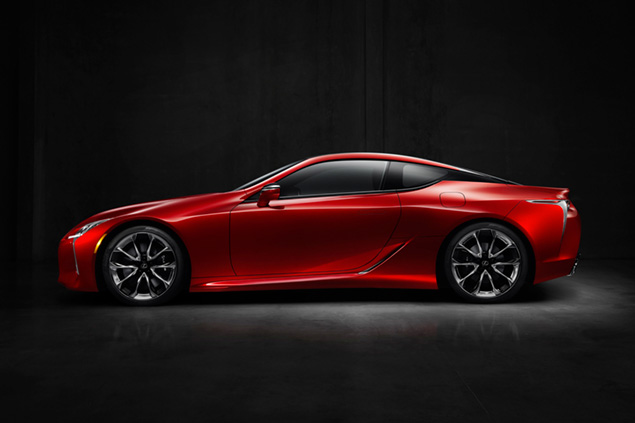 Global Debut of the All-New 2017 Lexus LC 500 at the 2016 NAIAS Signals the Dawn of a New Era for Luxury Brand