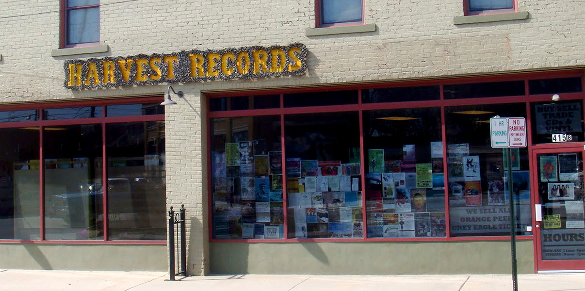 Harvest records footer2 local flavor avl visit explore shop asheville