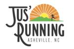 Thumb jus running logo local flavor avl visit explore shop asheville