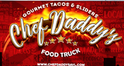 Thumb chef daddys food truck logo local flavor avl visit explore  asheville
