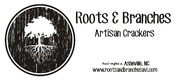 Thumb roots and branches logo local flavor avl visit explore food asheville