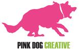 Thumb pink dog creative logo local flavor avl visit explore art scene asheville
