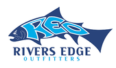 Thumb rivers edge outfitters logo local flavor avl visit explore recreation asheville