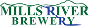 Thumb mills river brewery logo local flavor avl visit explore beer asheville