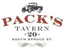 Thumb packs tavern logo local flavor avl visit explore food asheville
