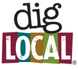 Thumb dig local logo local flavor avl visit explore entertainment asheville