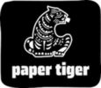 Thumb paper tiger logo local flavor avl visit explore food asheville