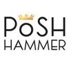 Thumb posh hammer logo local flavor avl visit explore entertainment asheville
