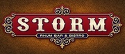 Thumb storm rhum bar and bistro logo local flavor avl visit explore food asheville