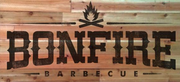 Thumb bonfire barbecue logo local flavor avl visit explore food asheville