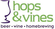 Thumb hops vines logo local flavor avl visit explore beer asheville