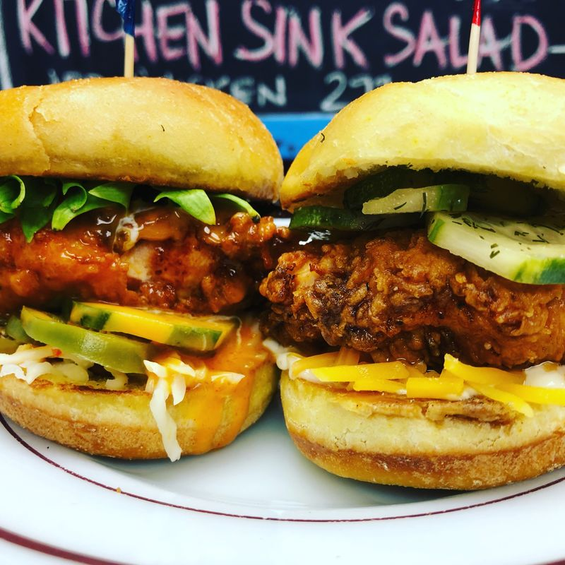 Diglocal Sand Hill Kitchen Has The Chicken Sandwich You