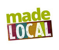Thumb made local logo local flavor avl visit explore charity asheville