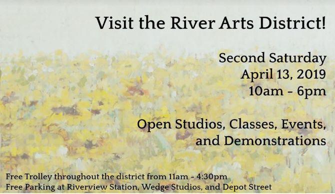 82b7cdbdc51f Scoop: Second Saturday in the River Arts District