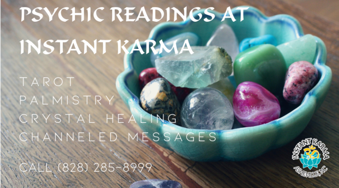 DigLocal - Tarot & Psychic Readings at Instant Karma