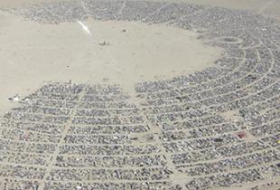Back From Burning Man, Libertarian Paradise?