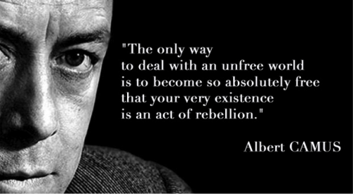 Camus' quote