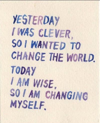 Rumi's Quote