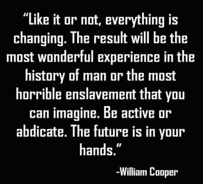 William Cooper Quote