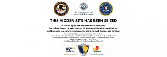 Hidden Site Seized