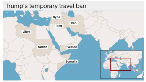 Trave Ban Map