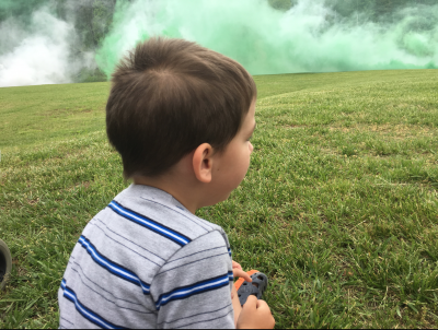 An Explosion Near My 4yr Old Son…
