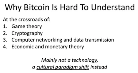 Why Bitcoin is hard to understand