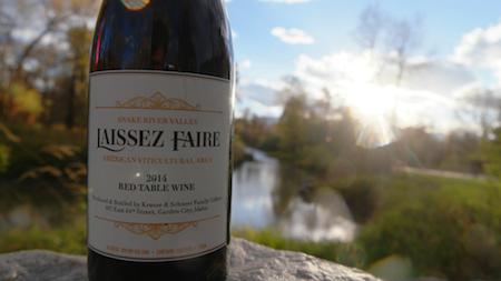 Laissez Faire wine