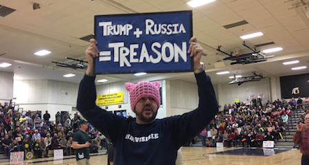 Trump + Russia = Treason