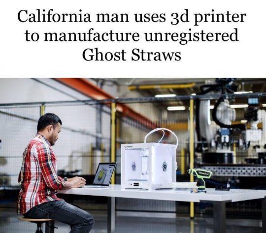 Man 3-D Printing a Gun