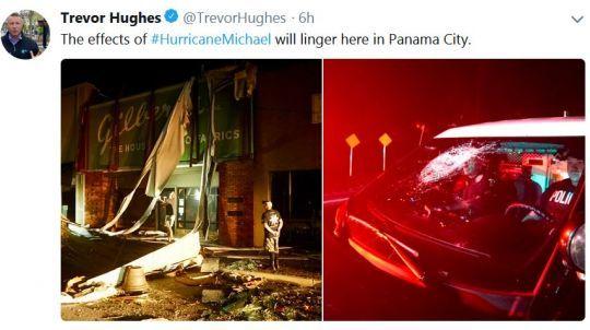 Trevor Hughes Tweet