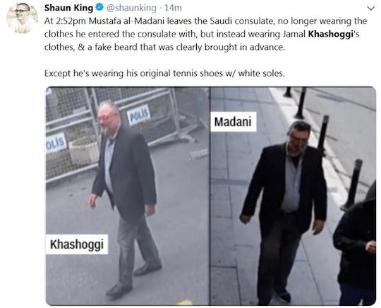 Tweet from Shaun King
