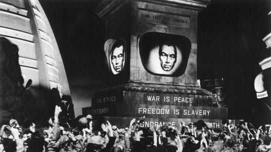 War is Peace. Freedom is Slavery