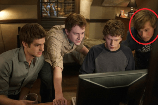 Screenshot from 'The Social Network'