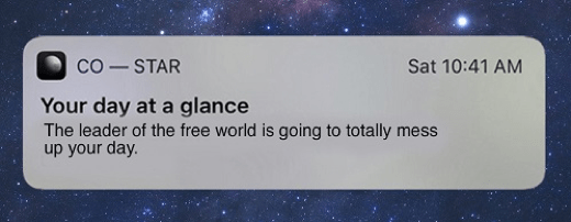Co-Star funny screenshot