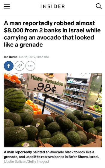Cheap avocados